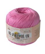 50g Ball Art Silk Thread Yarn Crochet Hand Knitting Lace Cotton Crochet ... - £3.20 GBP