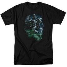 DC Comics Green lantern Black Lantern Corps retro comics graphic t-shirt GL239 image 1