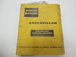 Caterpillar 650 & 660 Trattore Raschietto Servizio Manuale di Riparazione - $79.15