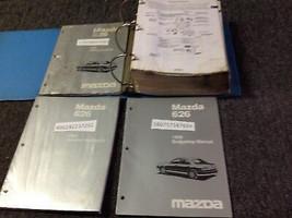 1998 Mazda 626 Service Reparatur Shop Werkstatt Manuell Set W Ewd Körper... - $34.59