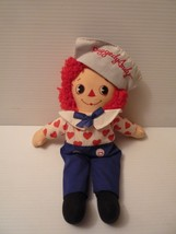 "Vintage Applause 13"" Raggedy Andy Valentine Side Glance Stuffed Doll Toy - $9.89"