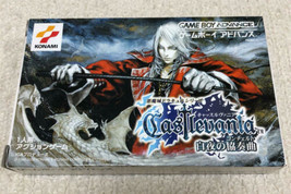 Nintendo Game Boy Advance Castlevania White Concerto Used - $264.79