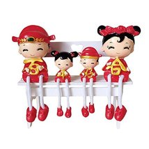 George Jimmy Creative Home Decorations Cute Cartoon Lovers Desktop Decorations C - $29.36