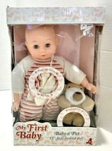 """Holly & Company My First Baby Baby n' Pet 12"""" Soft-Bodied Doll - $39.99"""