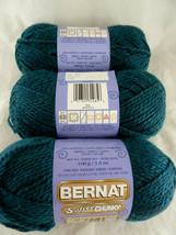 Bernat Softee Chunky Yarn Teal Sarcelle New 3.5 oz Acrylic - $19.79