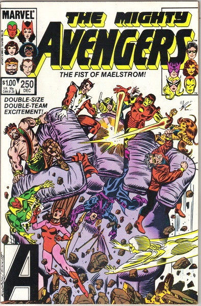 Primary image for The Avengers Comic Book #250, Marvel Comics 1984 VERY FINE- NEW UNREAD