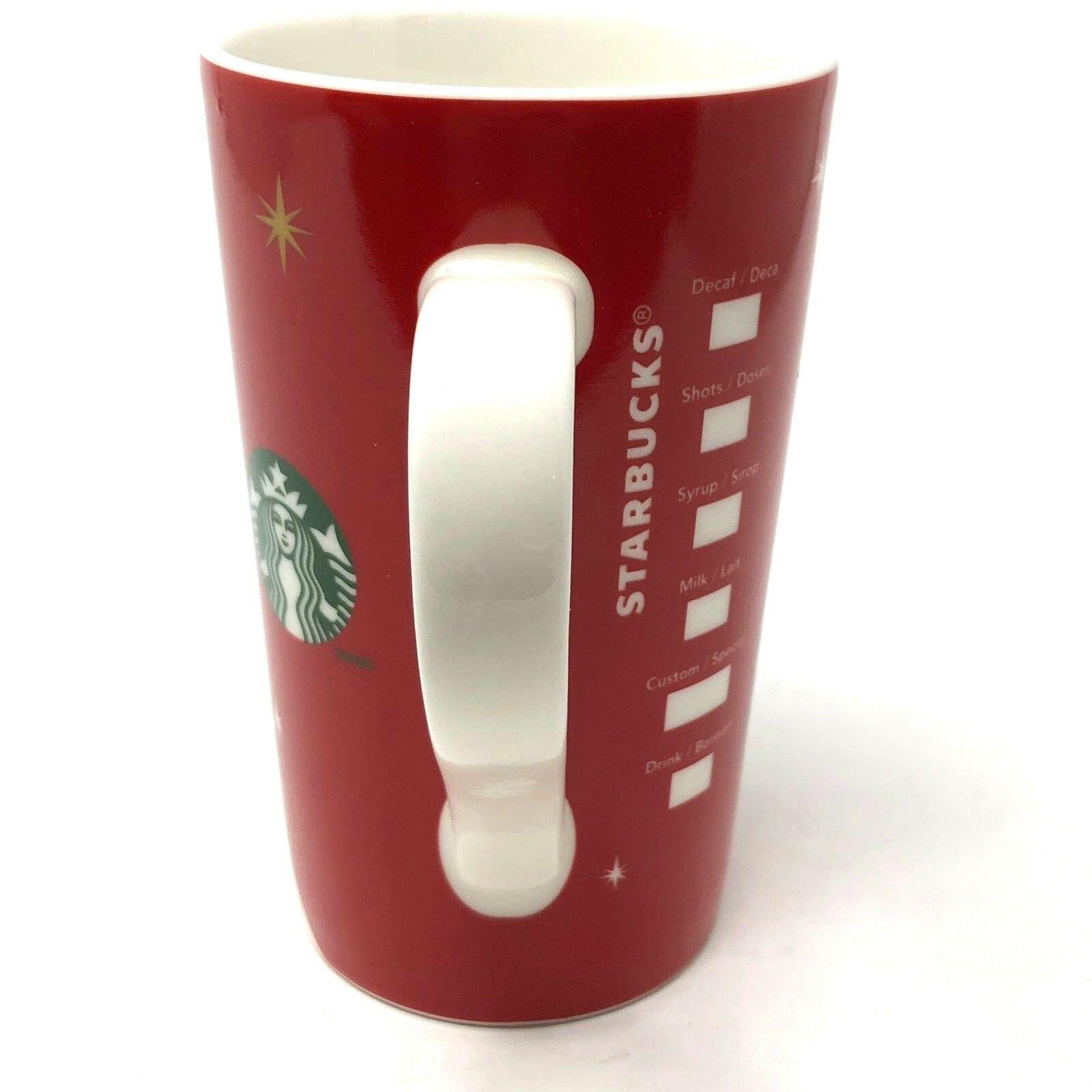Starbucks Mug 2012 Holiday Christmas Snowman Grande Coffee Cup 16 oz image 2