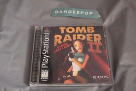 Tomb Raider II Starring Lara Croft (Sony PlayStation 1, 1997) - $19.79