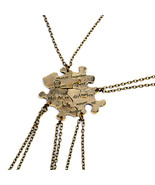 5 Piece Set Of Best Friend Necklace For Women Retro Irregular Geometric ... - $9.38
