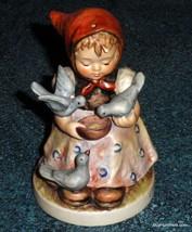 """Cinderella"" Goebel Hummel Figurine #337 TMK5 - Little Girl Feeding The ... - $155.19"