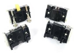 LOT OF 4 ALLEN BRADLEY CONTACT BLOCKS, 800T-XA, 800T-XD1, 800T-XD4 image 2