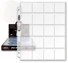 """BCW Pro 20-Pocket Pages, Pocket Size: 2"""" x2"""", 20 Pages - Coin Collecting... - $33.97"""