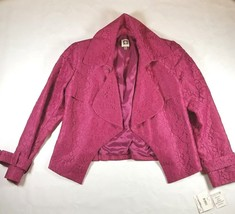 ANNE KLEIN Women's Jacket Pink Sz-6 Orchid Dress Casual NWT - $29.00