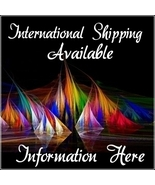 International Shipping Available- Information Here - $0.00