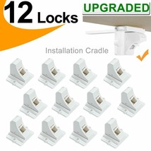 Baby Proofing Magnetic Cabinet Locks Child Safety - VMAISI 12 Pack Child... - $28.01