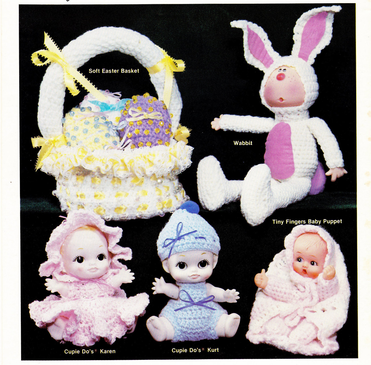 Primary image for ADVENTURES IN CROCHET CROCHETED DOLLS