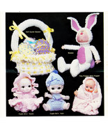 ADVENTURES IN CROCHET CROCHETED DOLLS - $4.95