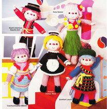HERITAGE FESTIVAL IN CROCHET DOLLS OF NATIONS  - $4.95