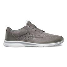 VANS ISO Perf + (Nubuck) Brushed Nickel White UltraCush Sneakers Womens Size 8.5 - $54.95