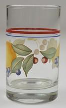 Corning Abundance Pattern 6 Oz. Juice Glass Retired Pattern Glassware Co... - $10.99
