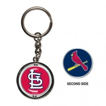 St Louis Cardinals Spinner Key Ring - $4.99
