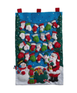 Bucilla 'Mittens and Stockings' Felt Stitchery Wall Hanging Kit, 86735 - $31.99