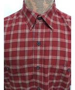 Patagonia Men L Red Plaid Organic Pima Cotton Long-Sleeve Shirt NEW Brea... - $47.06