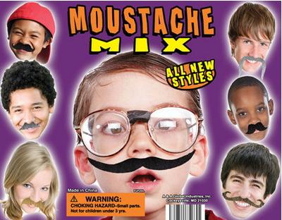 144 Fake Mustaches Birthday Party Favors Bulk Lot  Moustache Mustache Wholesale