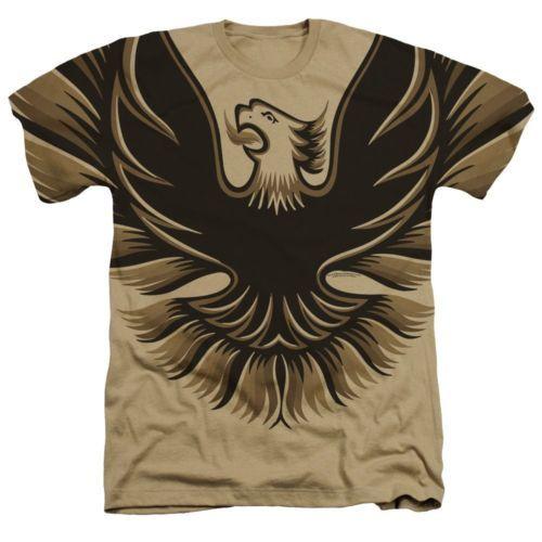 T-Shirts Sizes S-2XL New Authentic Pontiac Oversized Logo Heathered T-Shirt