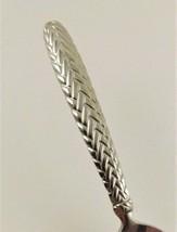 """Ralp Lauren Equestrian Braid Teaspoon 6 1/4"""" -Weave Handle-Glossy - $32.62"""