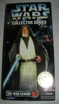 "New STAR WARS Collector Series 12"" Obi-Wan Kenobi Action Figure Kenner 1996 a - $16.69"