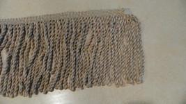 1 Yard of Beige 8 inch Rope Bullion Fringe Trim - $19.95