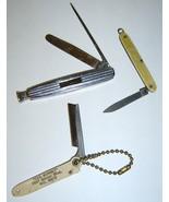3 Sm Vint Pocket Knifes - SHEFFIELD - COLONIAL ... - $16.95