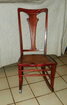 Cherry Caned Sewing Rocker / Rocking Chair (JLC-R150) - $299.00