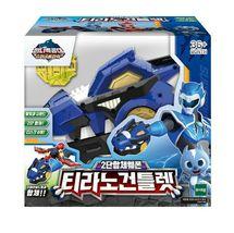 Miniforce Tyranno Gauntlet Sound Lights Toy Super Dinosaur Power Part 2 Weapon image 5
