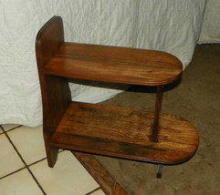 Elm 2 Tier End Table / Side Table  (T175) - $199.00