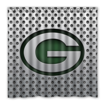 Greenbay Packers 01 Shower Curtain Waterproof Polyester Fabric For Bathroom  - $33.30+