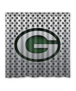 Greenbay Packers 01 Shower Curtain Waterproof Polyester Fabric For Bathr... - $33.30+