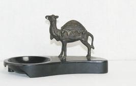 Soviet Original Russian  Figurine Camel Bronze Brass Ashtray USSR - $11.88