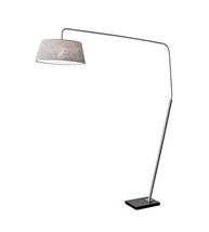 Adesso 5412-22 Ludlow Floor Lamps 72in Brushed Steel 1-light - $300.00