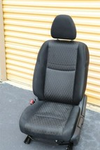 17-18 Nissan Rogue Front Left Driver Manual Seat - Black image 2