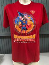 Superman Celebration 2013 Metropolis Illinois Medium T-Shirt  - $15.59