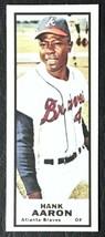 1968 Topps Bazooka Hank Aaron Reprint - MINT - Atlanta Braves - $1.98