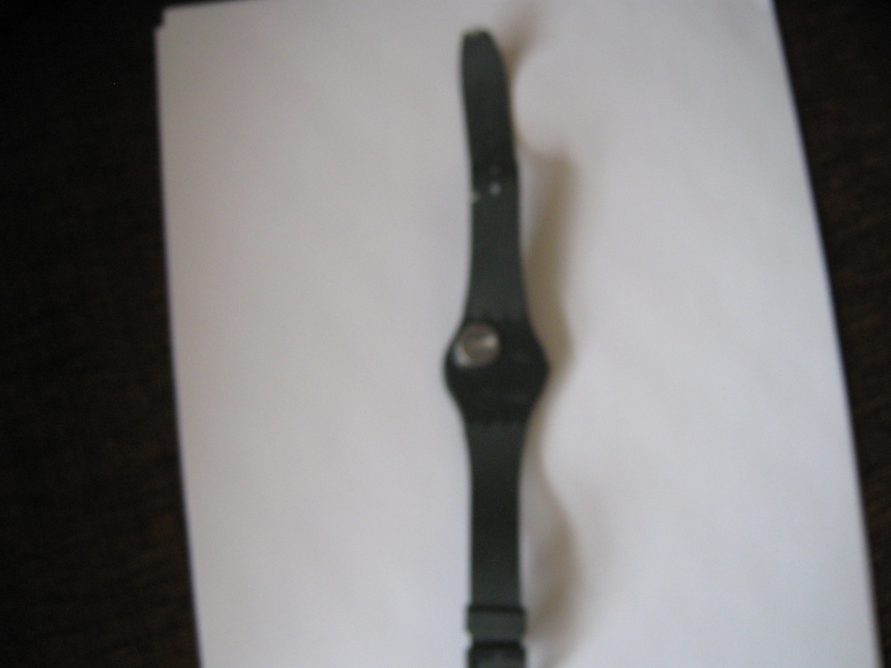 """Vintage , Swatch Watch ,  """"High Moon""""  ,1987 , Used & Worn"""