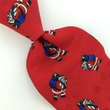 WEMBLEY BLUE RED SANTA CLAUSE Christmas Silk Men Classic Necktie Tie X6-... - $19.79