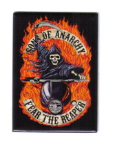 Sons of Anarchy TV Series Fear The Reaper Logo Refrigerator Magnet, NEW ... - $4.99