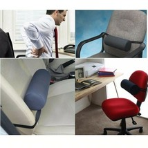 Lumbar Roll Protector Back Support Pillow Office Chair Cushion Car Seat ... - $30.99+