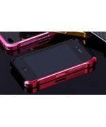 Aluminum Bumper Vapor4  Element Case Black/Red ... - $18.70