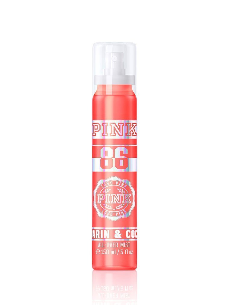 Victoria's Secret PINK Mandarin & Coconut All-over Mist 5 oz NEW