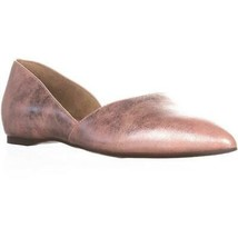 naturalizer Samantha Pointed Toe Flats, Pink Metallic - $33.01